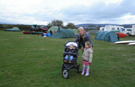 Camping Field at Greaves Farm Caravan and Camping Site.